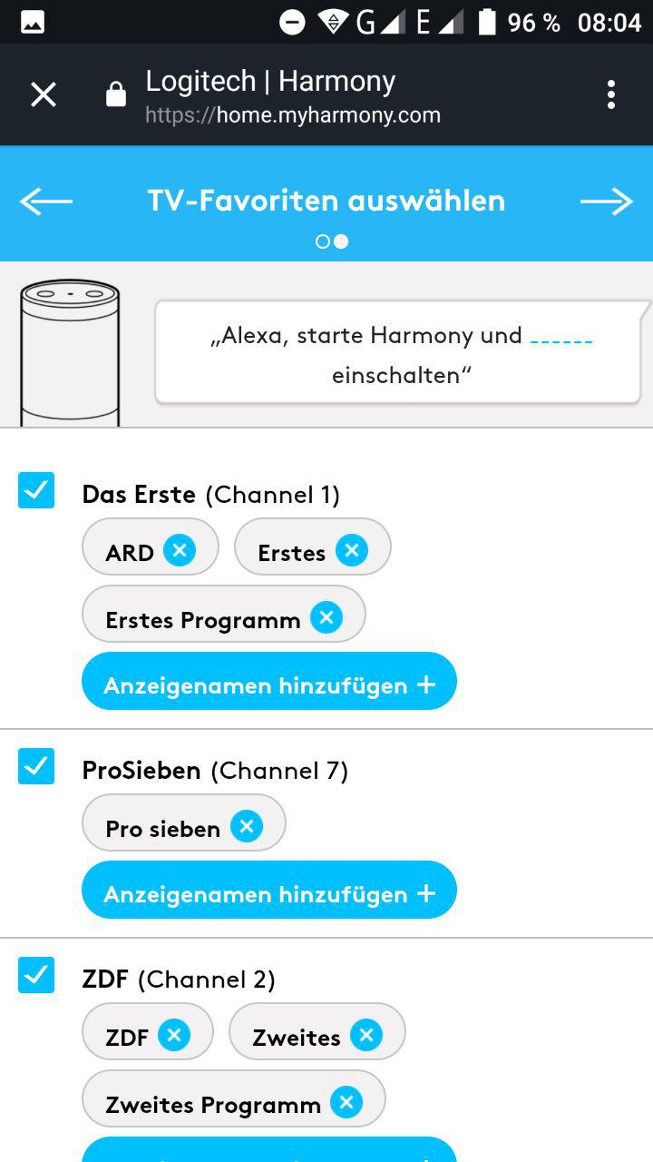 amazon echo harmony deutschland