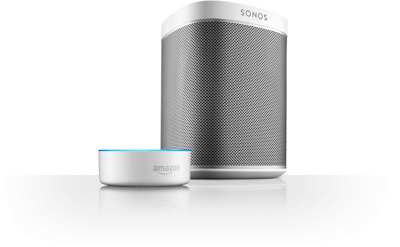 Sonos und Alexa