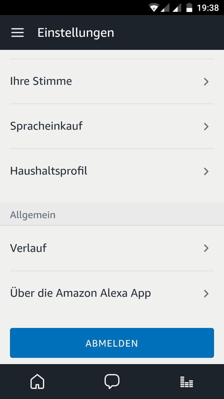 Ihre Stimme Alexa App 1