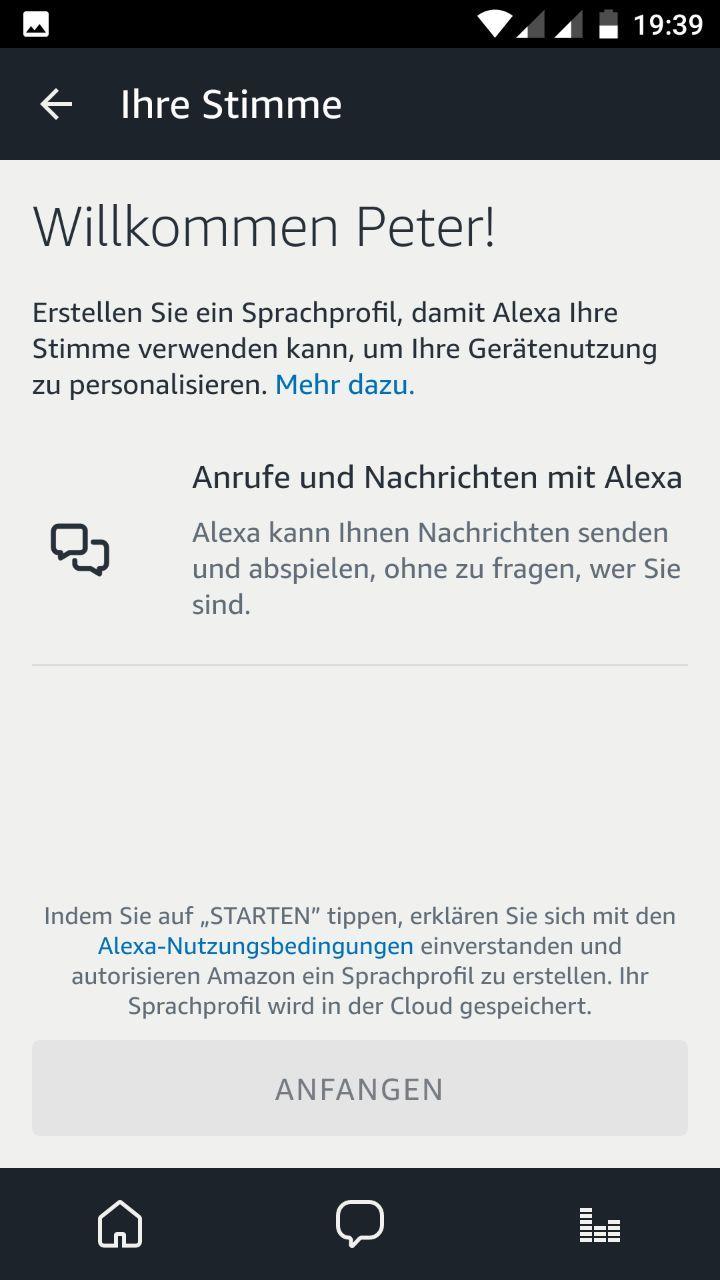 Ihre Stimme Alexa App 3