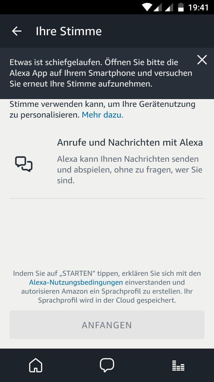 Ihre Stimme Alexa App 2
