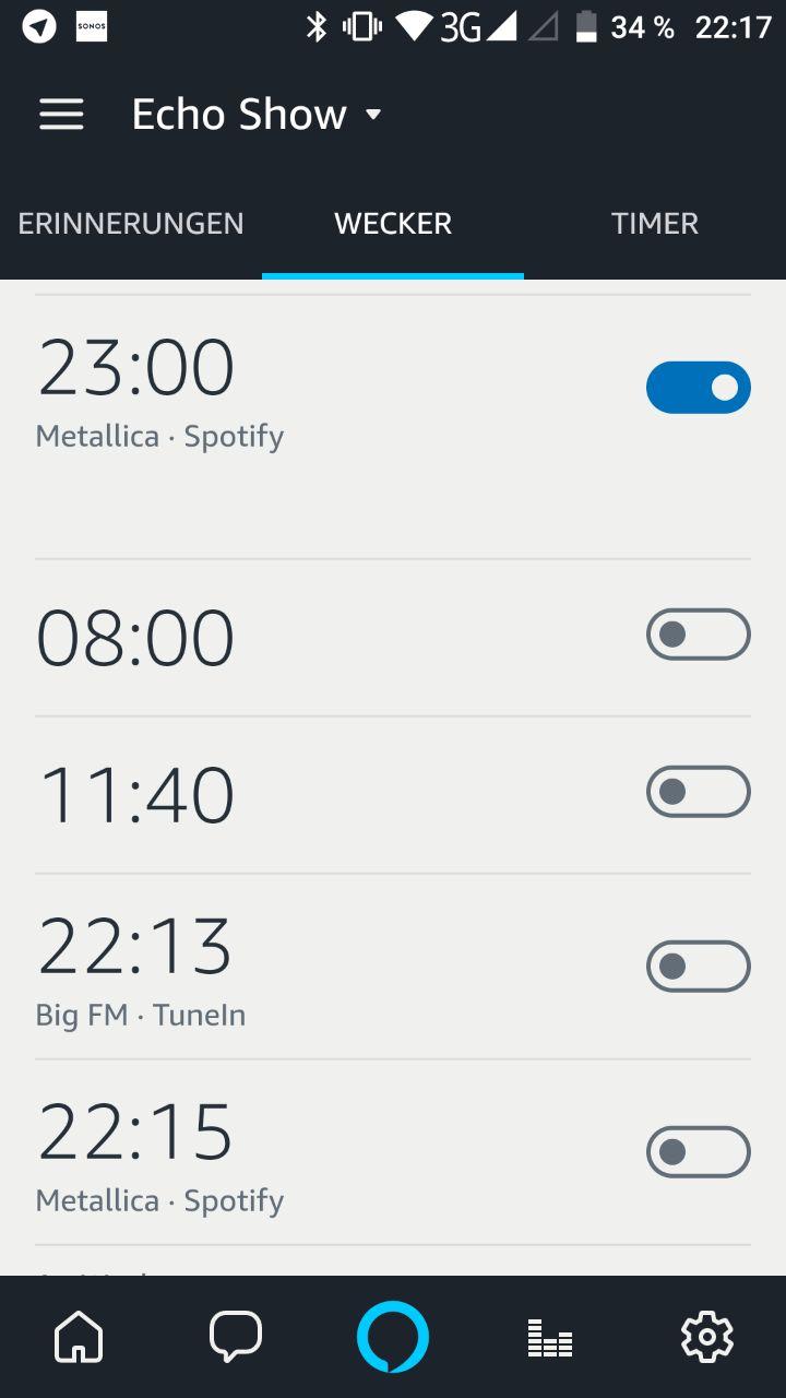 Spotify Alexa Alexa Musikwecker