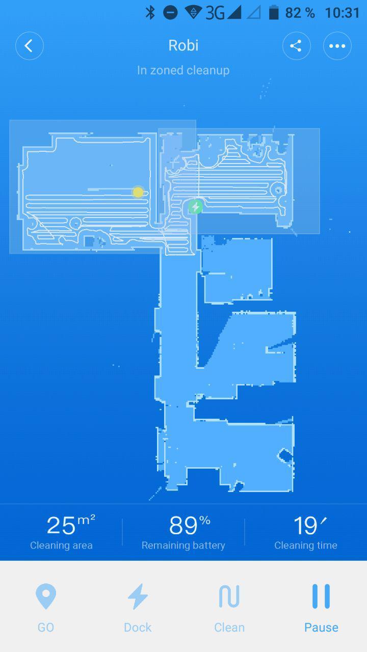 Roborock Bereiche 2