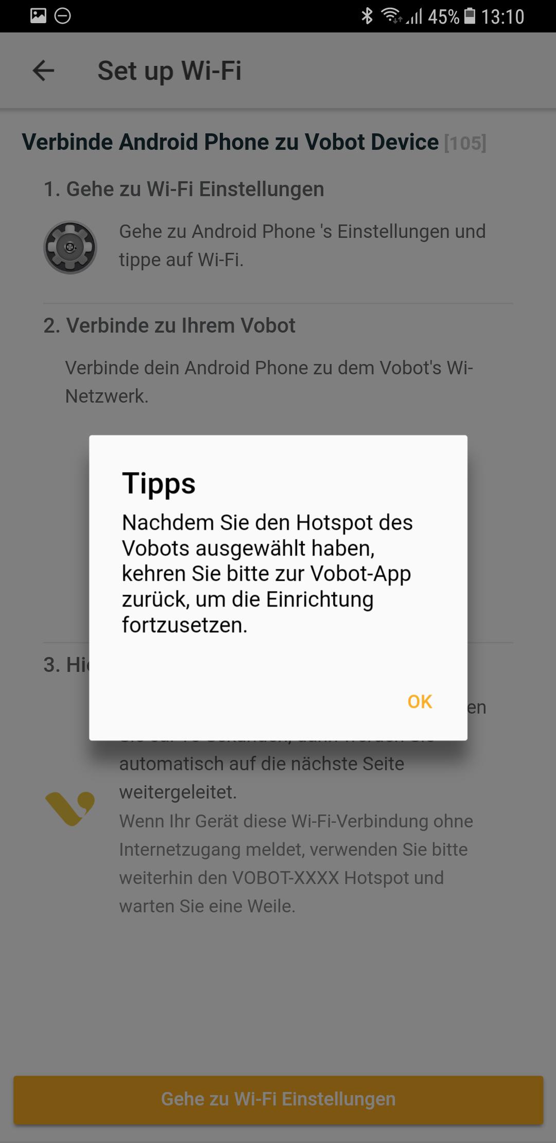 Setup Vobot Smart Alarm Clock