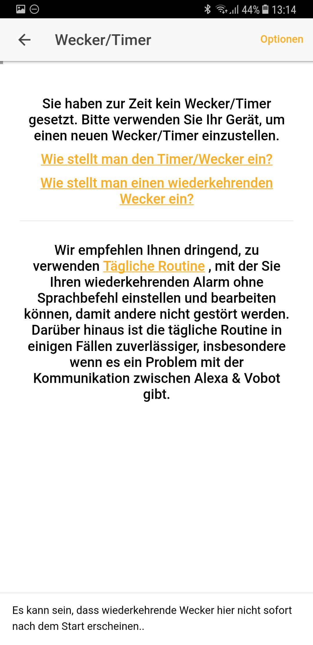 Wecker Vobot Smart Alarm Clock