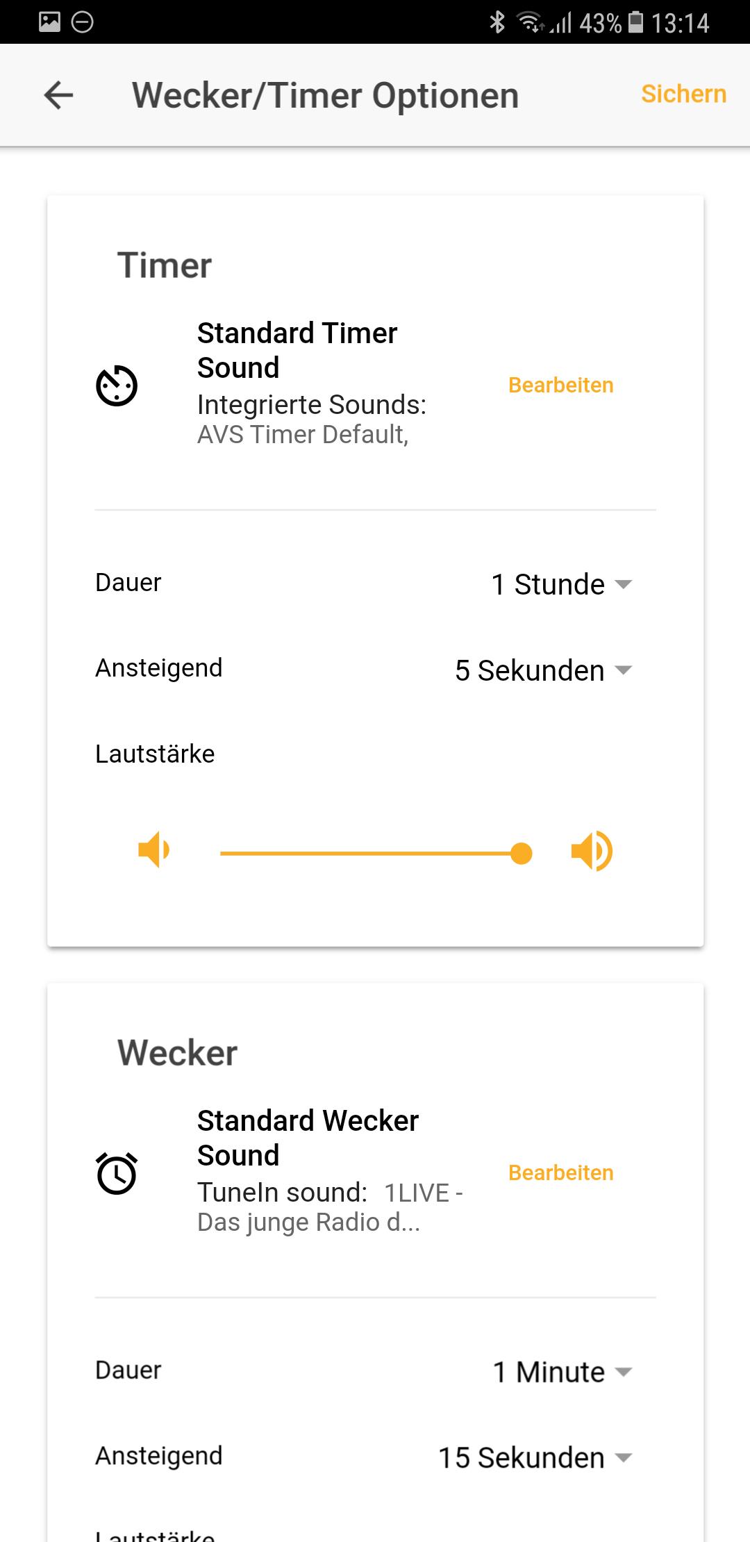 Wecker Optionen Vobot Smart Alarm Clock