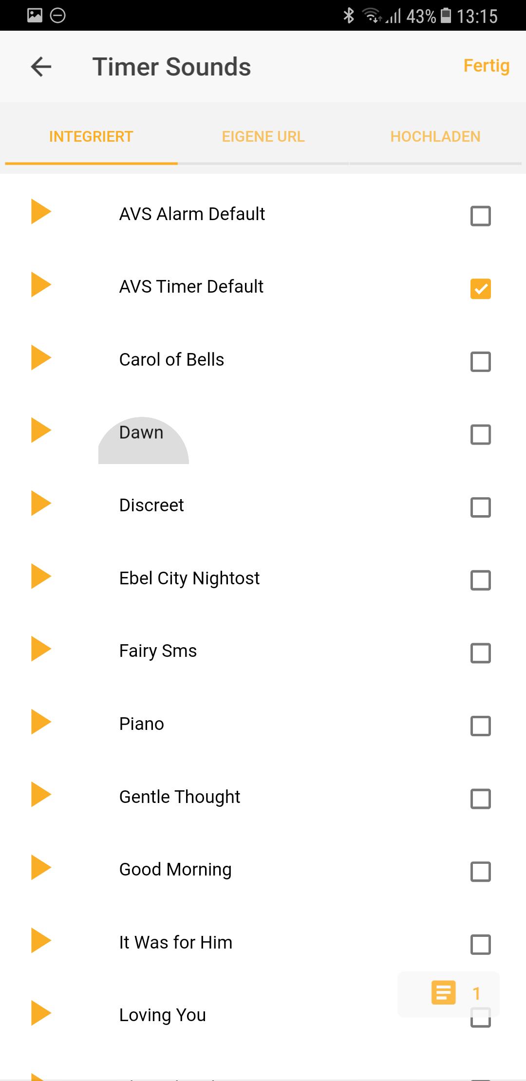 Sounds Vobot Smart Alarm Clock