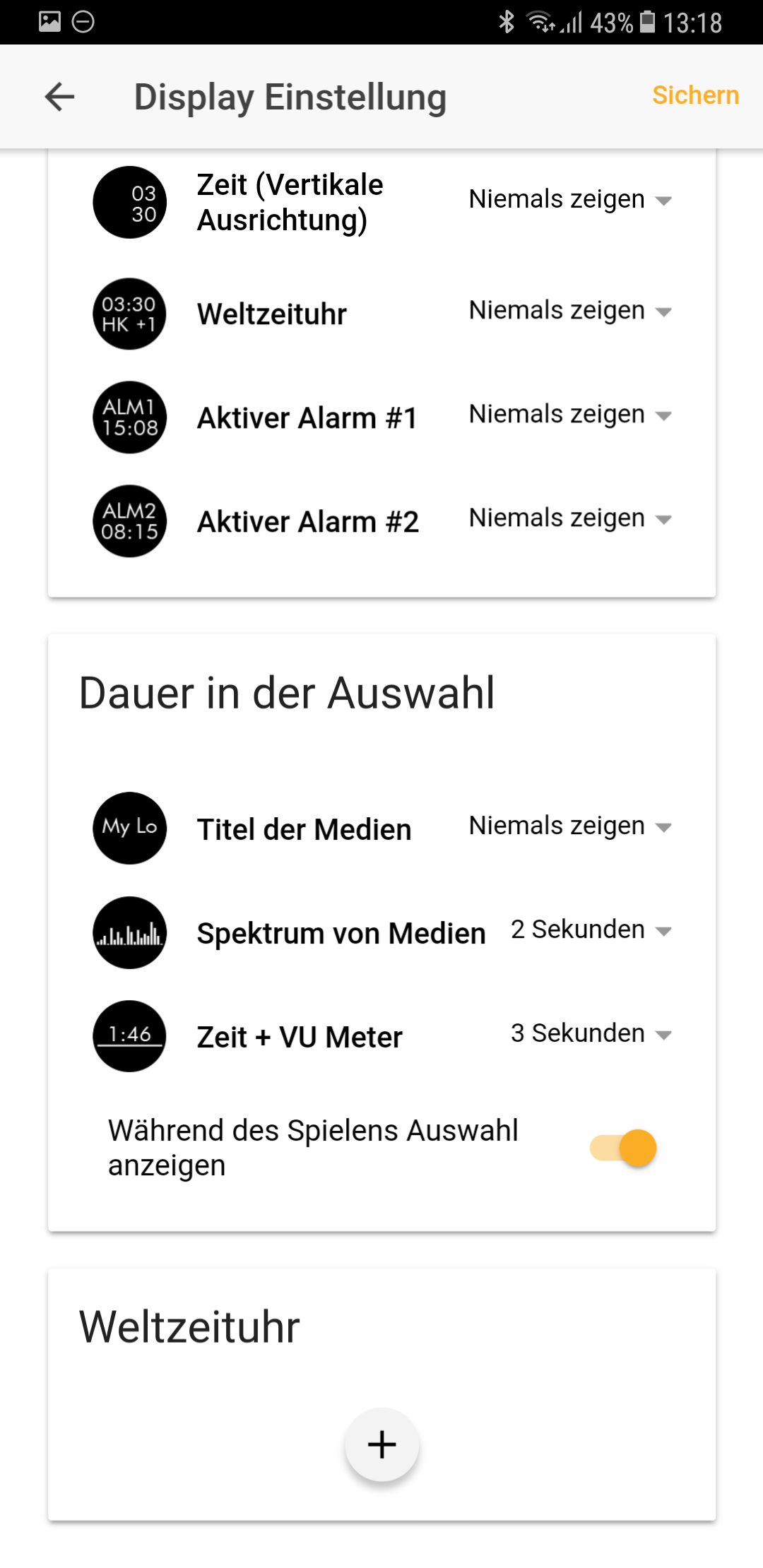 Individualisierung Vobot Smart Alarm Clock