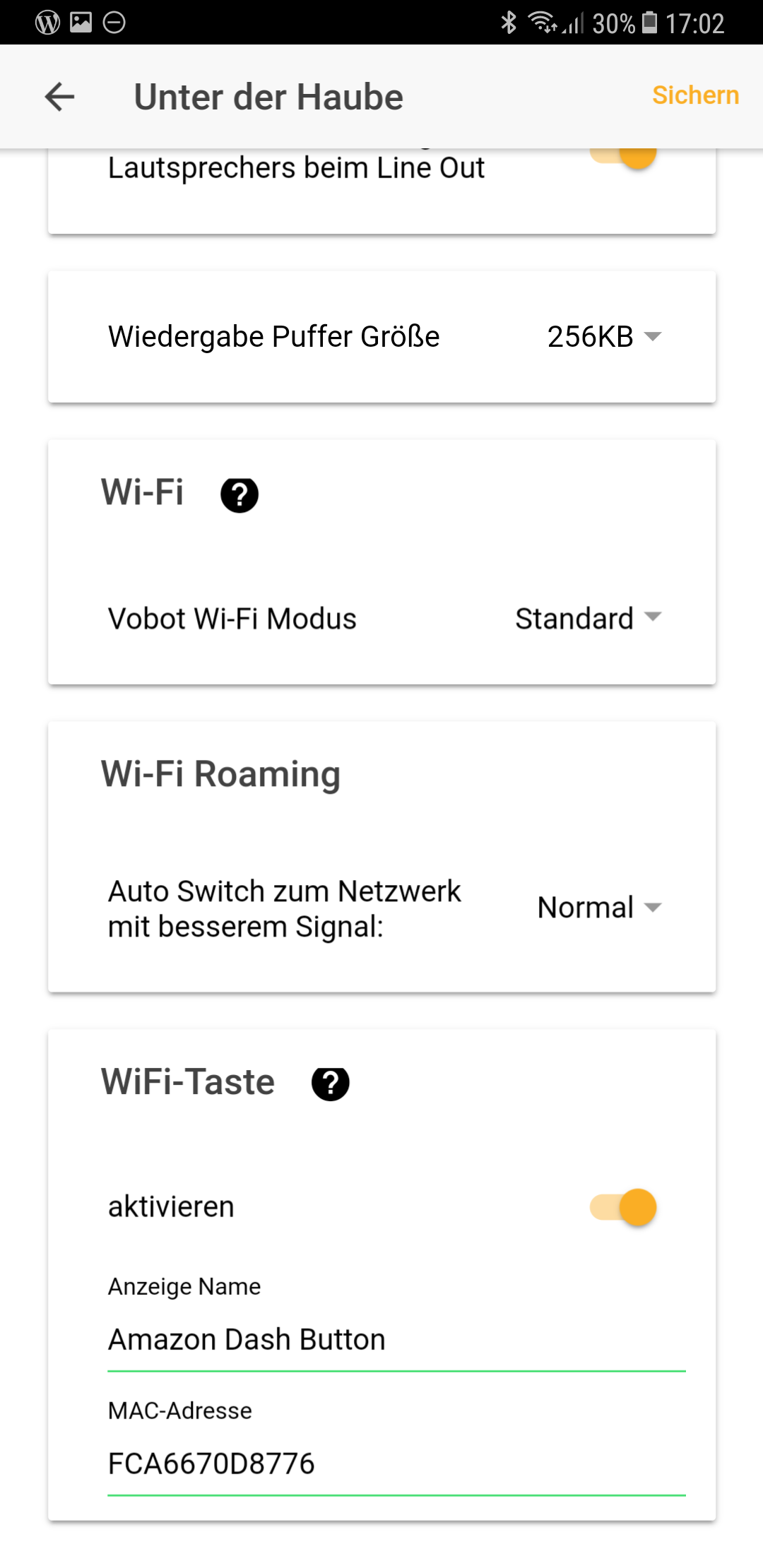 Dash Button Vobot Smart Alarm Clock
