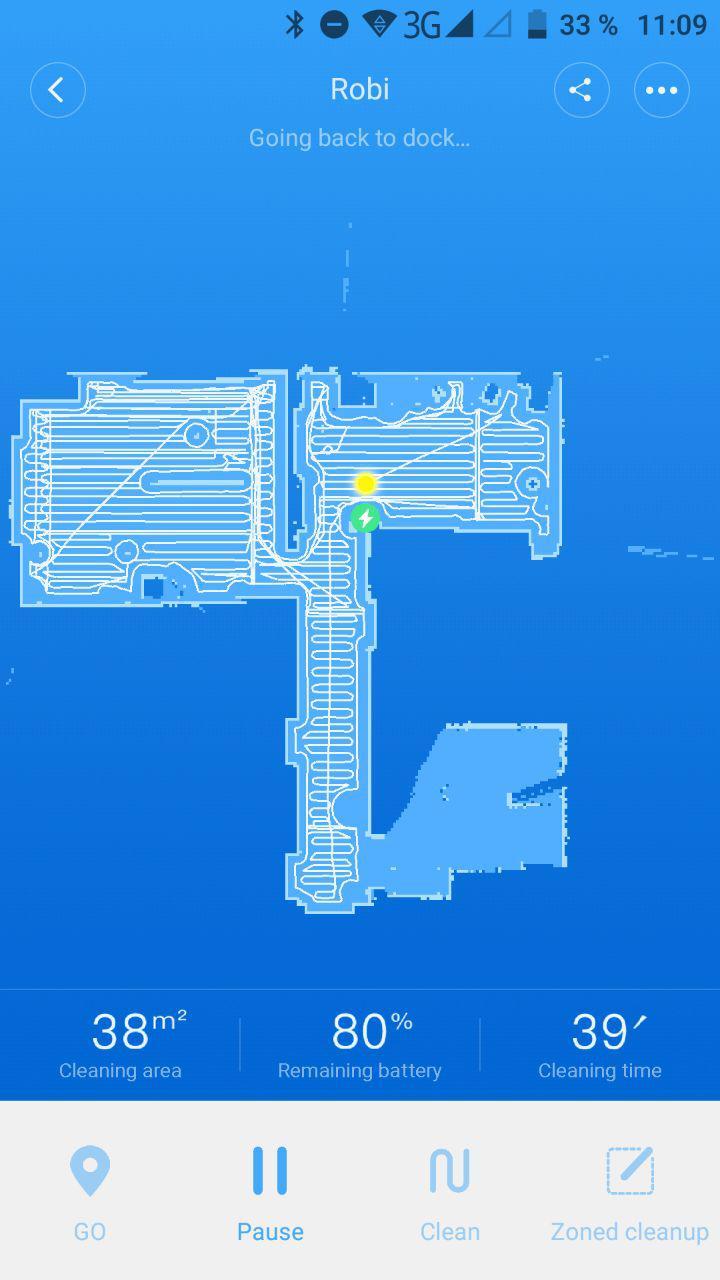 Xiaomi MiHome App Map