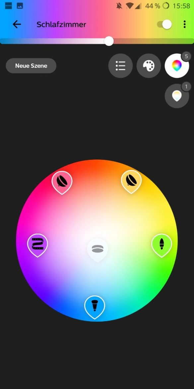Hue App 3.0 Farb-Picker 1