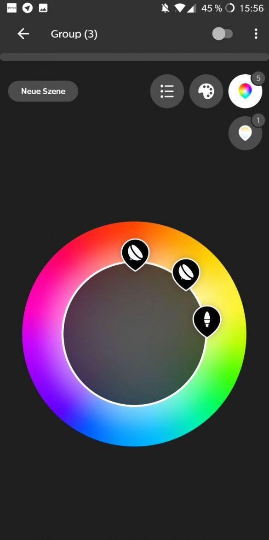 Hue App 3.0 Farb-Picker 3
