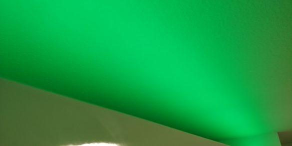 Gleichmäßige Ausleuchtung des Innr Flex Light Color