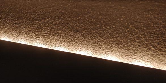 Lichthöfe beim Hue Lightstrip Plus