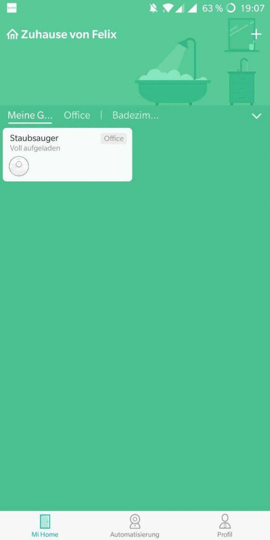 Mi Home App Deutsch 1