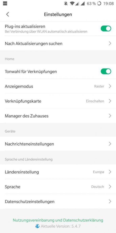 Mi Home App Deutsch 3