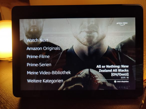 Echo Show Prime Video