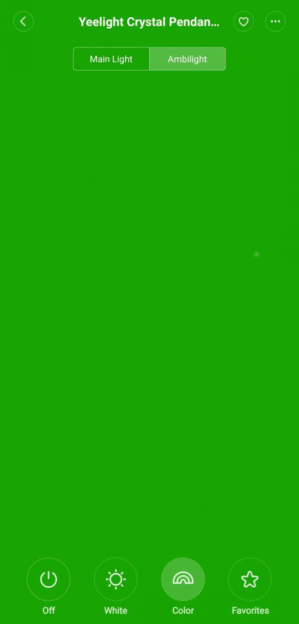 Mi Home App - Ambientlight